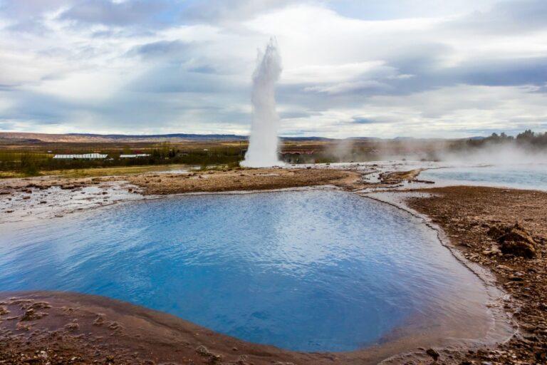 Gran Geyser. Islandia