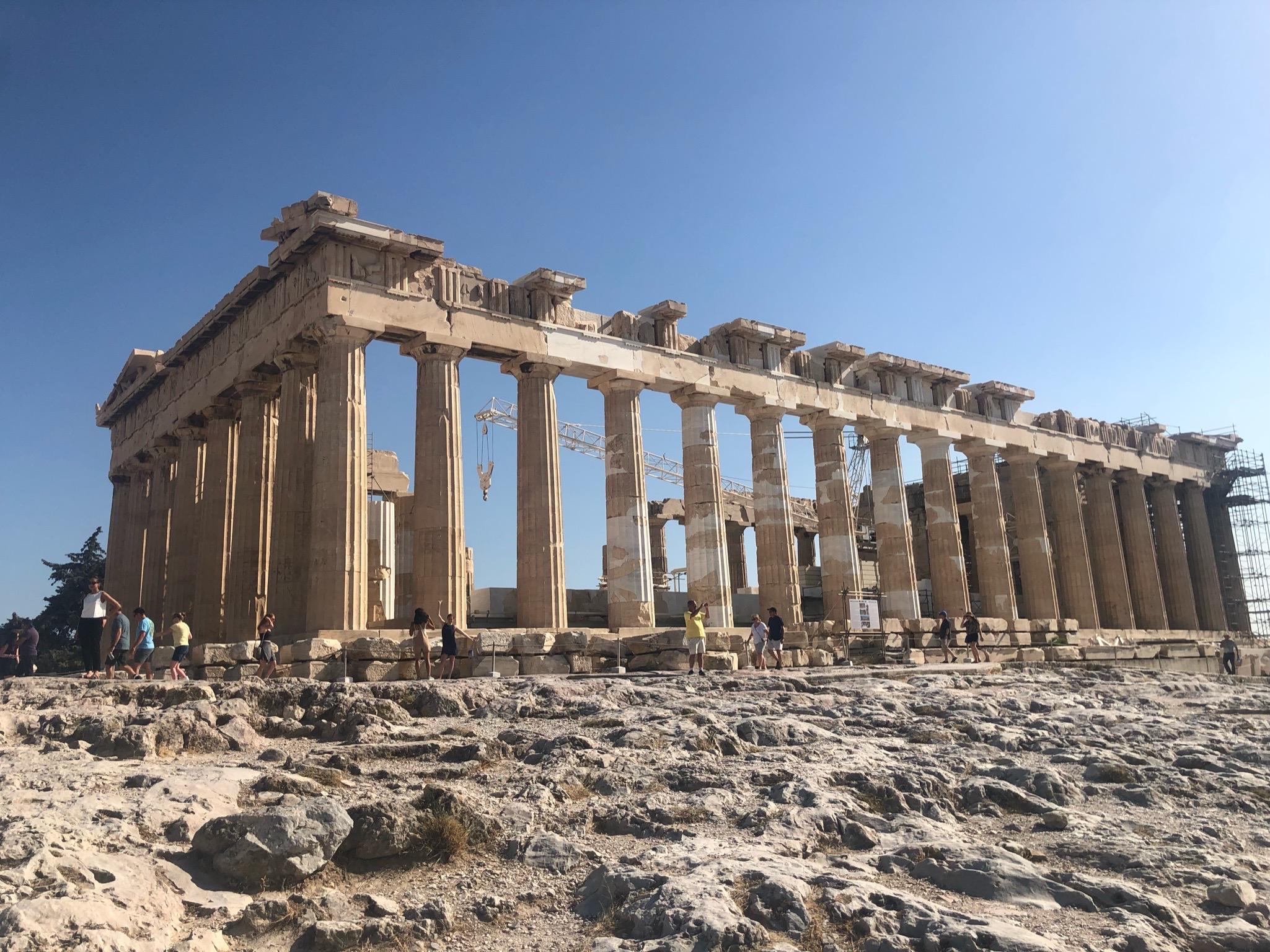Partenon. La Acrópolis