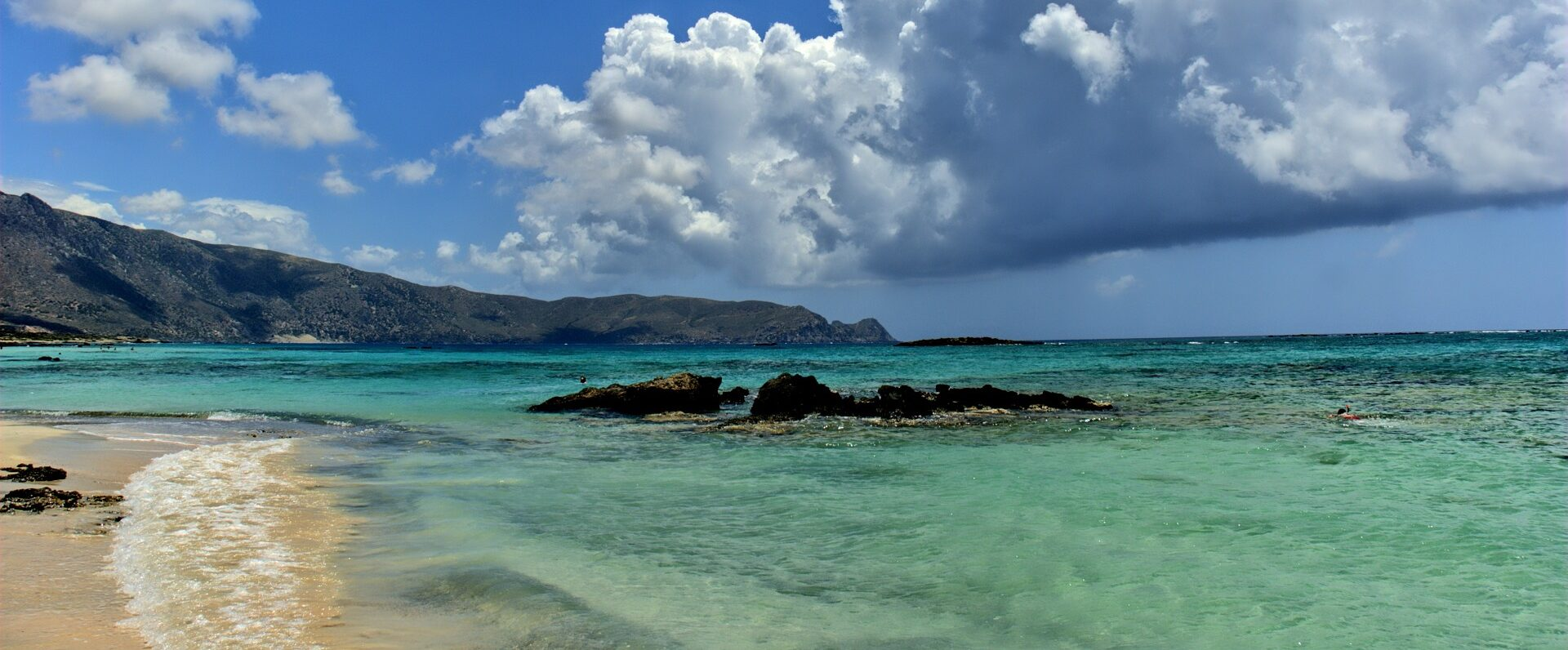 Playa Elafonisi. Creta
