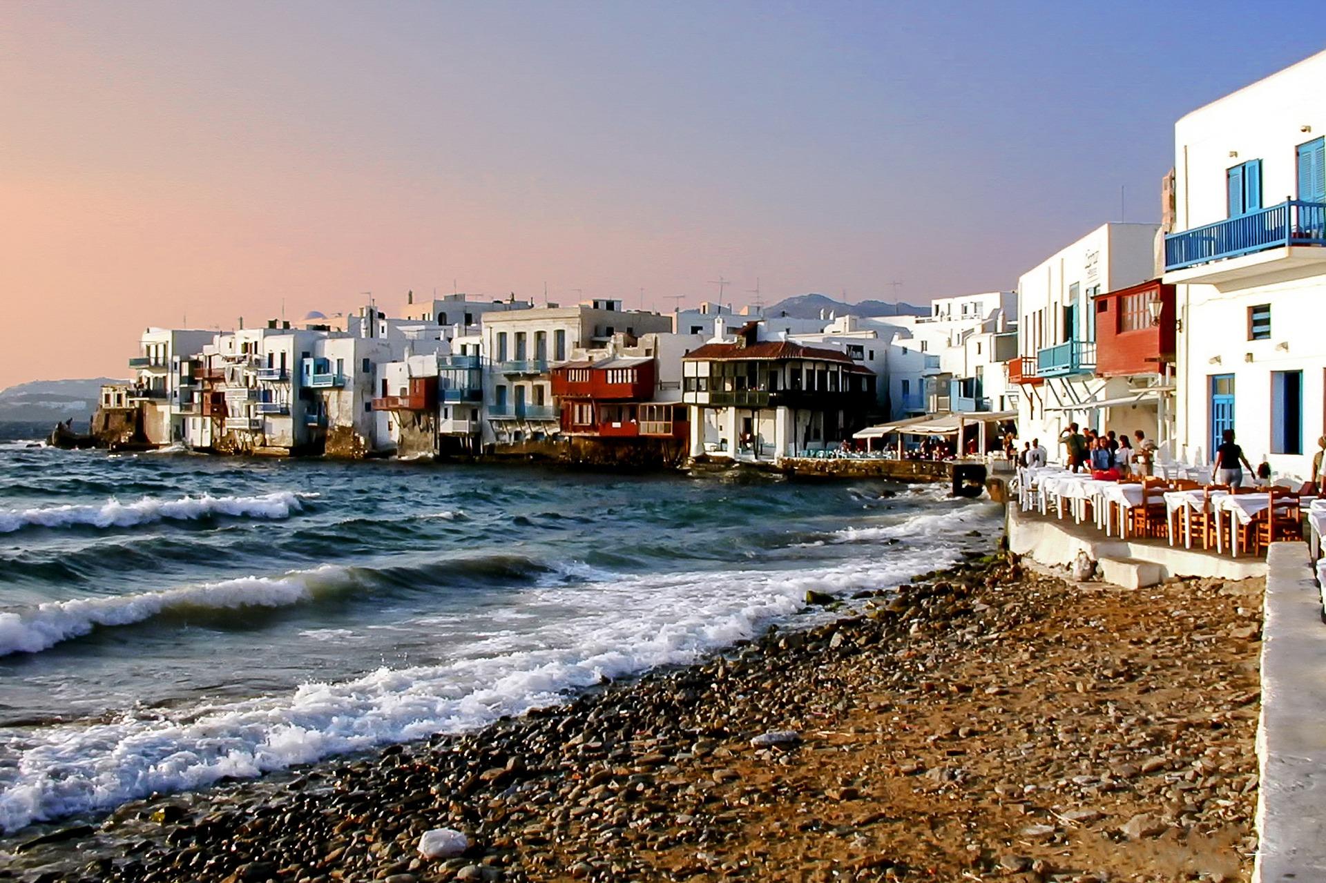 Little Venice. Mykonos