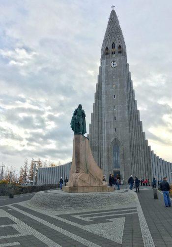 Iglesia Hallgrímskirkja. Reikiavik. Islandia